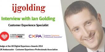 [Interview] Ian Golding, judge at the UK Digital Experience Awards 2014