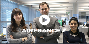 [Video] Air France chat agents achieve customer satisfaction rate of 91% and boost online revenue