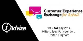 EVENT: iAdvize, silver sponsor at the Customer Experience Exchange for Retail 2014