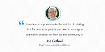 Interview with Joe Cothrel, Chief Community Officer @Lithium