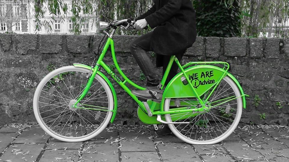 7 vélos iAdvize à disposition des salariés