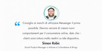 Simon Robic – Come elaborare una strategia vincente per il coinvolgimento del cliente con Messenger