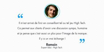 Rencontre avec Romain, expert ibbü et près de 2000 conseils High Tech au compteur