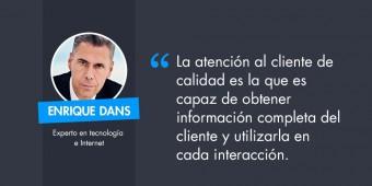 Enrique Dans – la relación con el cliente online