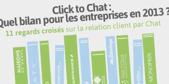 Livre Blanc : Click to Chat, quel bilan pour les entreprises en 2013 ?