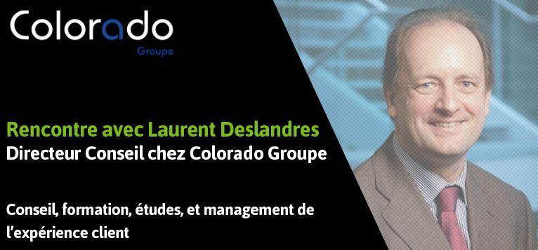 Parcours clients et usages du digital, la relation client revisitée par Laurent Deslandres