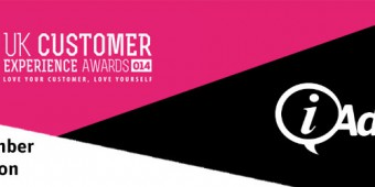 iAdvize is honoured to be on the judging panel at the UK Customer Experience Awards!