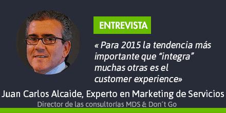 Entrevista a Juan Carlos Alcaide, experto en marketing de servicios y relación con el cliente