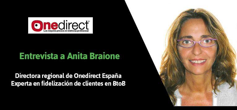 Entrevista a Anita Braione, directora de One Direct España