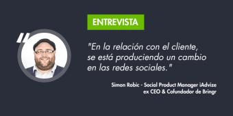 Entrevista a Simon Robic: la revolución de la atención al cliente en redes sociales