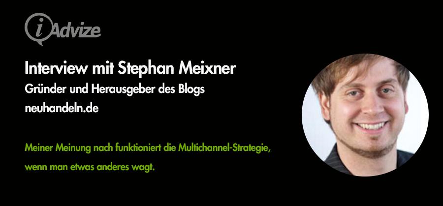 Experteninterview mit Stephan Meixner von NEUHANDELN