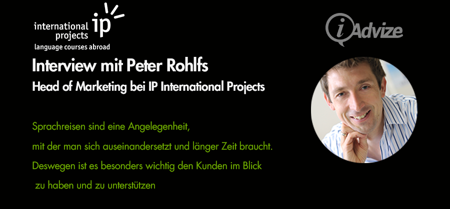 Peter Rohlfs, Head of Marketing bei IP International Projects im Interview zum Website Chat