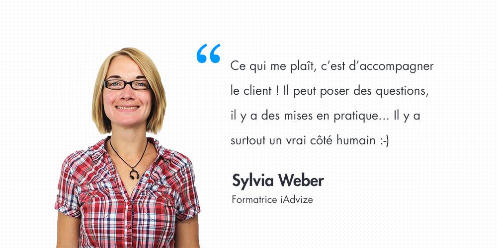 Série d'été n°3: Interview de Sylvia Weber, formatrice @iAdvize