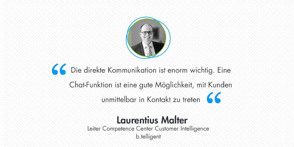 10 Fragen zur Customer Intelligence an Herrn Malter