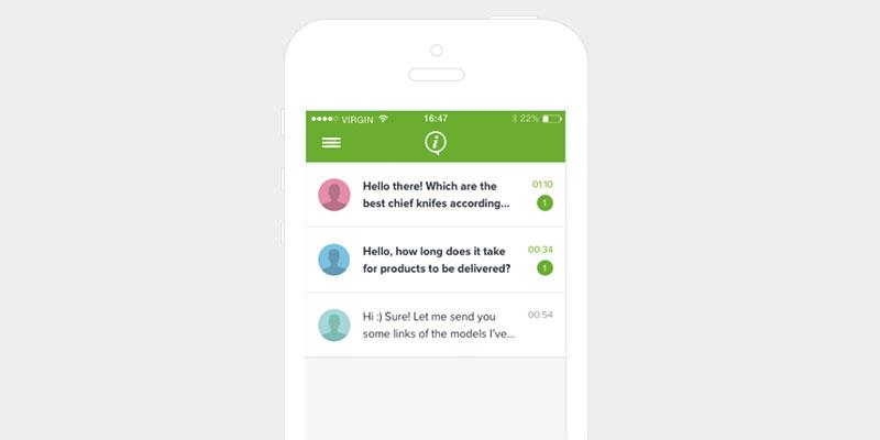 iAdvize lance une application dédiée au Community Messaging