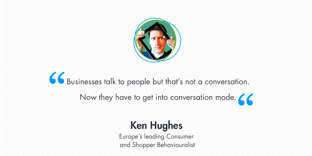 Ken Hughes about Online Shopper Behaviour