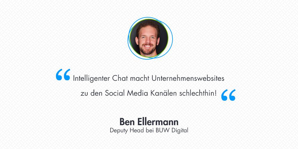 8 Fragen an Ben Ellermann, Deputy Head bei BUW Digital