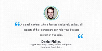 Interview with Daniel Philips, Digital Marketing Director at FlipGive