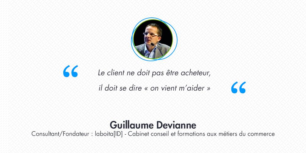 [Interview] Guillaume Devianne : développement commercial et vision de la relation client