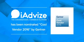 "iAdvize has been nominated ""Cool Vendor 2016"" by Gartner"