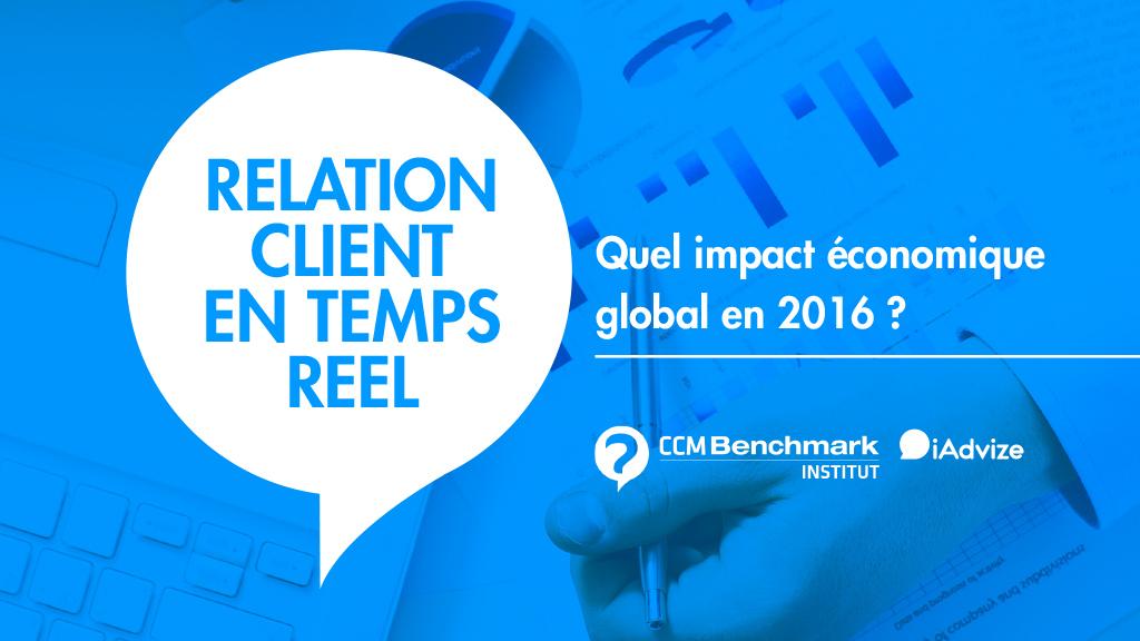[Etude CCM Benchmark] Relation client en temps réel : quel impact économique global en 2016 ?