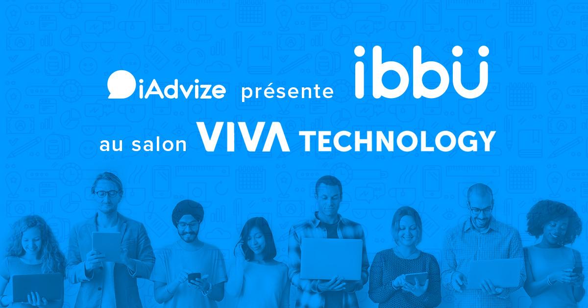 iAdvize est présent à la 1ère édition du salon Viva Technology Paris