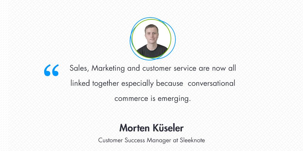 [Interview] Morten Küseler discusses the importance of customer service in Denmark