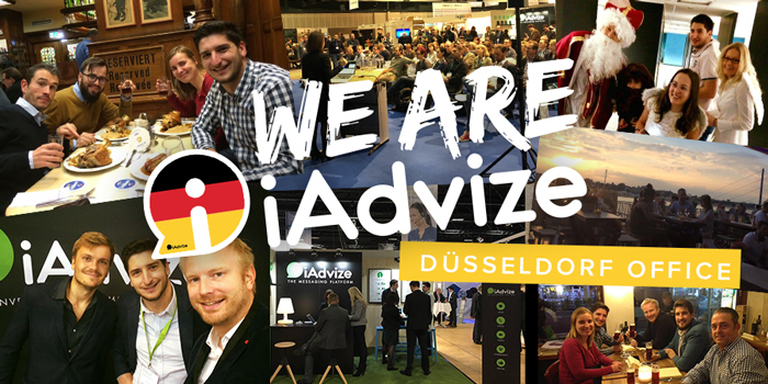 Le côté allemand d'iAdvize