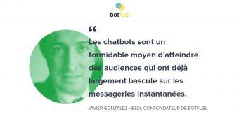 «Nous allons assister à l'émergence de chatbots beaucoup plus intelligents et utiles pour les utilisateurs»