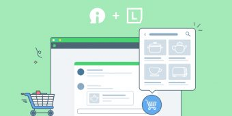Send products to online visitors from the discussion panel!