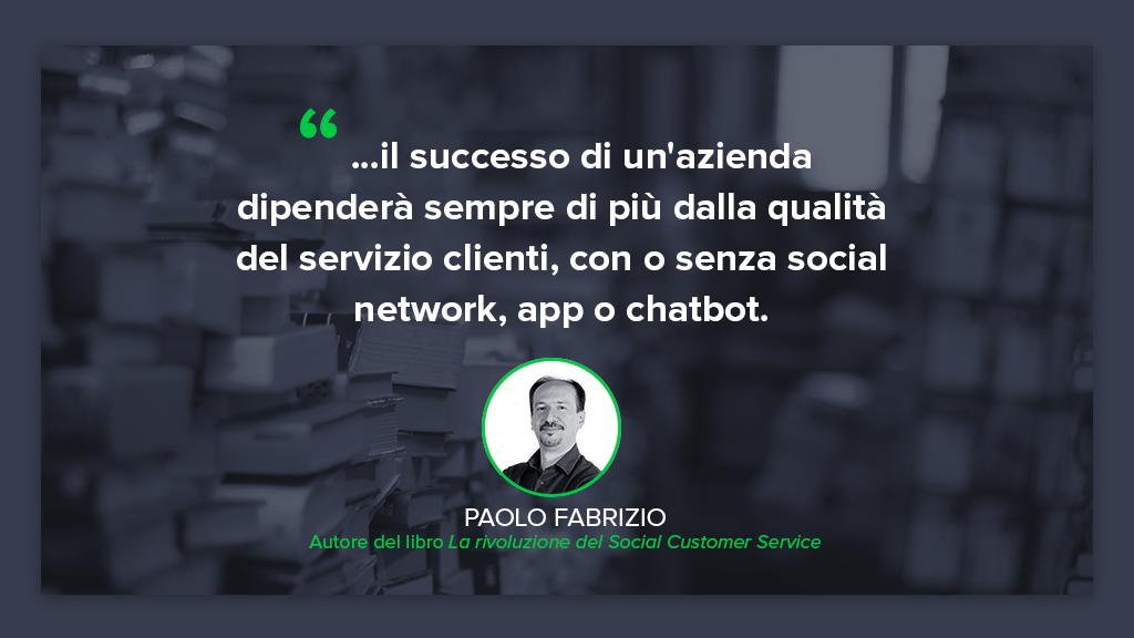 Intervista a Paolo Fabrizio: cos'è il Social Customer Service?