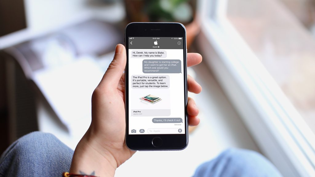 Apple enters the age of conversational commerce with Business Chat