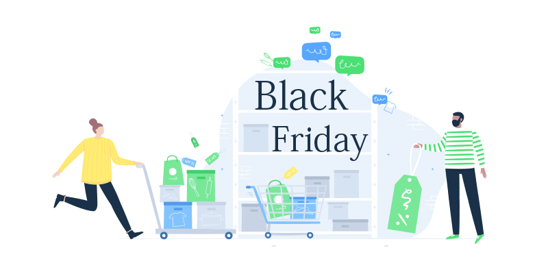 Black Friday: feedback on the performance of the Top 20 eCommerce websites using ibbü