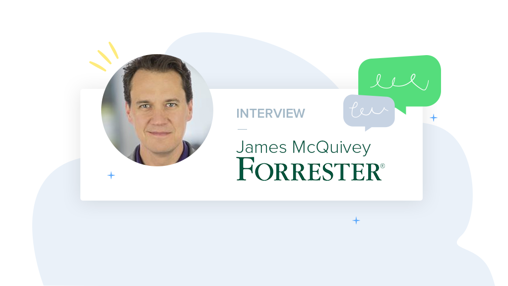 Entrevista con James McQuivey, VP y analista principal de Forrester Research