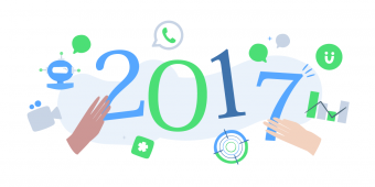 2017, a year full of product news for the iAdvize platform