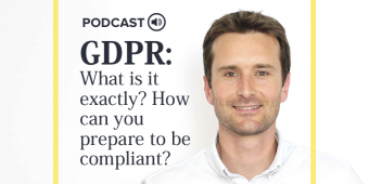 [Podcast] Matthieu Huet, iAdvize's General Counsel tells us more about GDPR
