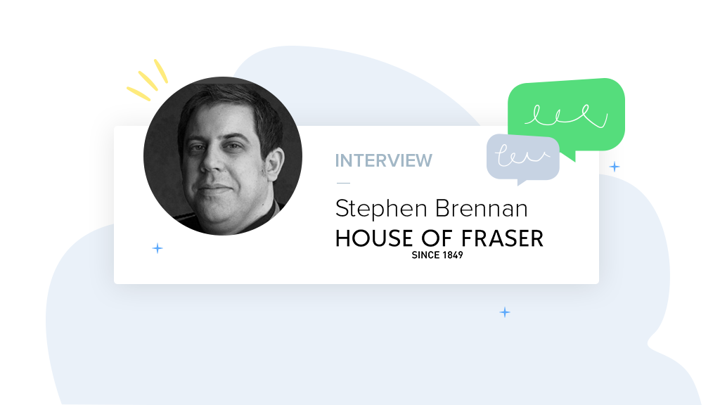 What is Conversational Marketing & how are House of Fraser using this?