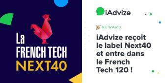 iAdvize reçoit le label Next40 et entre dans le French Tech 120 !