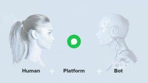 Conversational Tools Mix Human Platform Bot AI iAdvize