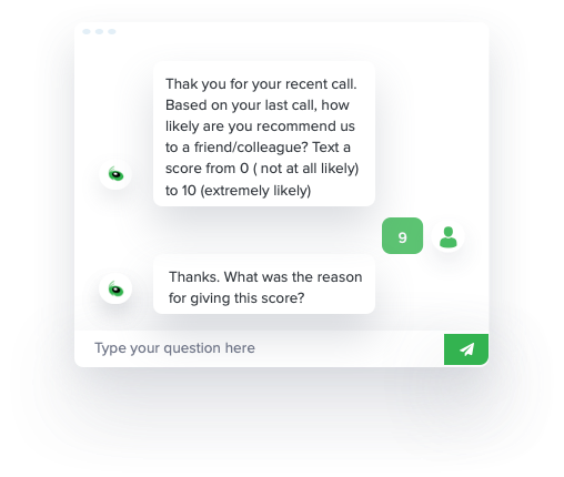 Online Conversation Content Chat Window Score 9 iAdvize