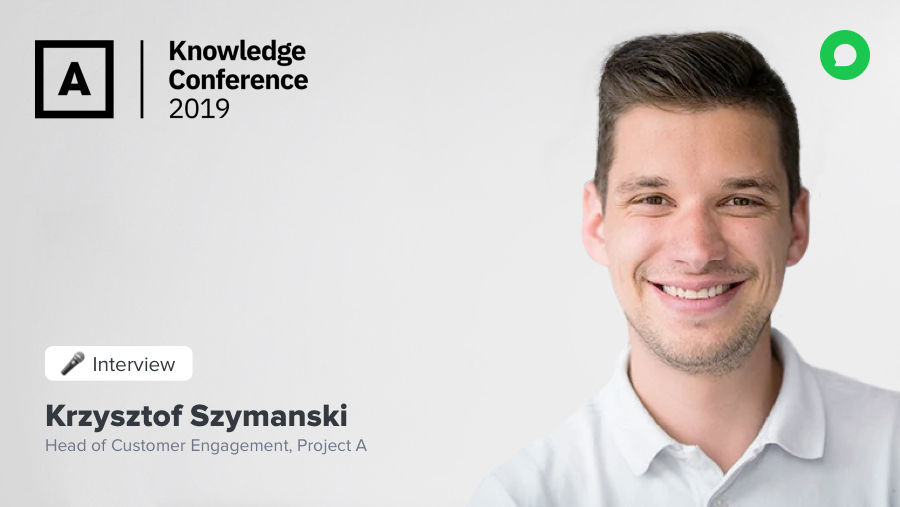 A conversation with Krzysztof, Head of Customer Engagement at Project A, to learn how to shift from CRM to CXM