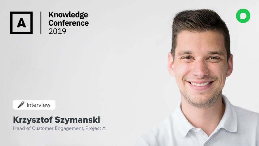 Von CRM zu CXM: eine Konversation mit Krzysztof, Head of Customer Engagement bei Project A