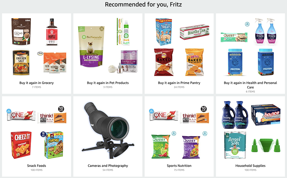 Omni-channel communication Amazon recommendations iAdvize