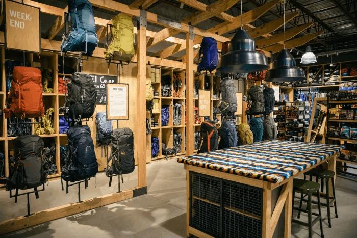 Experiential Store Experience Economy REI interior iAdvize